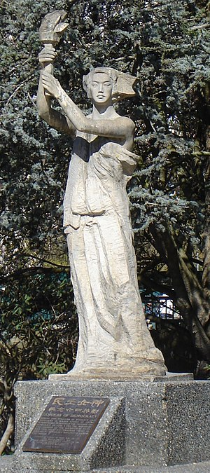 Goddess of Democracy - Image: Goddess of Democracy at UBC