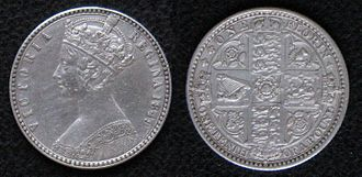 "Florin (British coin) - The 1849 ""godless florin"""