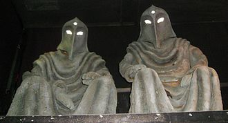 The Greatest Show in the Galaxy - The Gods of Ragnarok, on display at a Doctor Who exhibition.