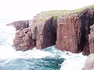 Gola Island - Image: Gola Twin Cave Area