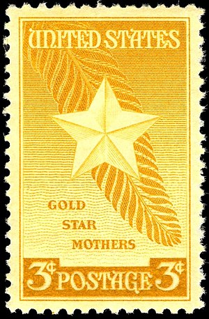 American Gold Star Mothers - Gold Star Mothers commemorative issue of 1948