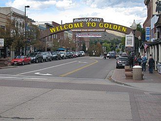 Golden, Colorado - Downtown Golden