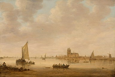 Goyen 1644 View of Dordrecht from the Dordtse Kil.jpg
