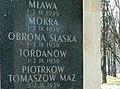 Grób Nieznanego Żołnierza - bitwy 1939 Mława Mokra.jpg