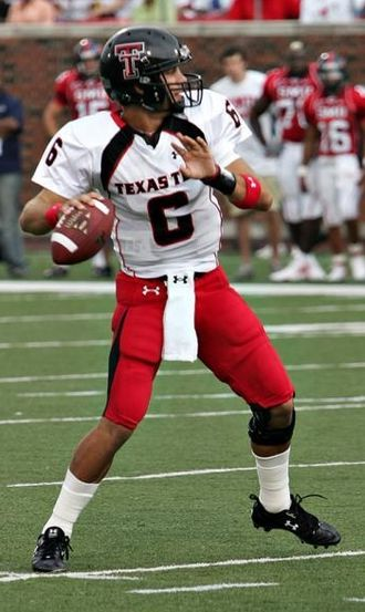 Texas Tech Red Raiders football statistical leaders - Graham Harrell holds Texas Tech career records in passing yards and passing touchdowns.