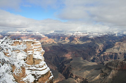 Grand Canyon covered with snow GrandCanyonWinter2008.JPG
