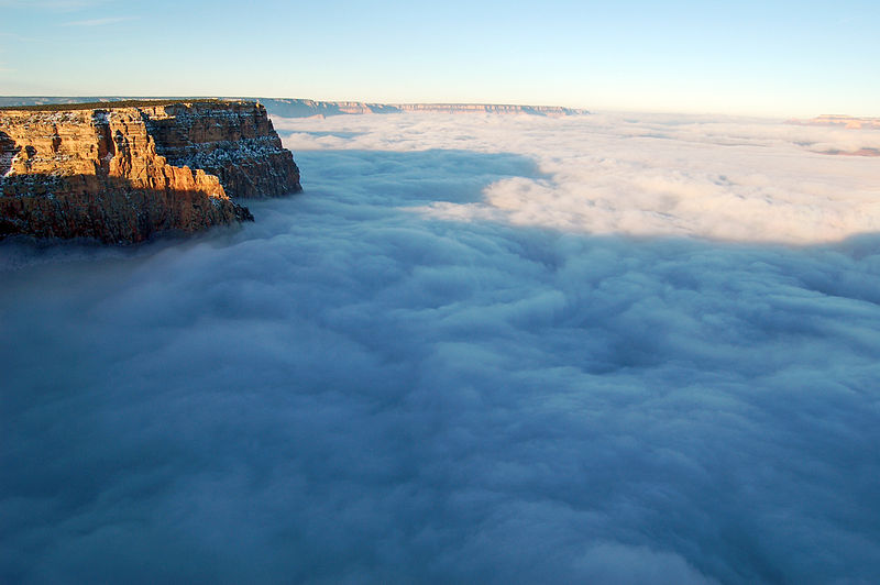 File:Grand Canyon National Park Cloud Inversion from Desert View, November 29, 2013 photo 0788 - Flickr - Grand Canyon NPS.jpg