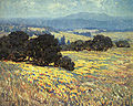 Granville Redmond California Oaks and Poppies.jpg