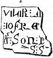 Gravstein i Nidarosdomen - her huilir meistare jofreyr (1823) (9524239960).jpg