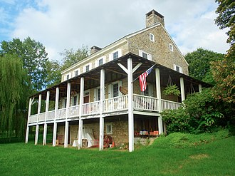 John Gray House (Port Matilda, Pennsylvania) - Image: Gray House Centre Co PA porches