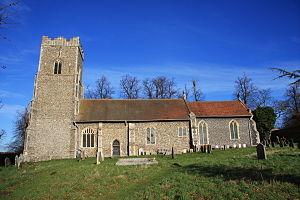 Great Bealings - Image: Great Bealings Church Close