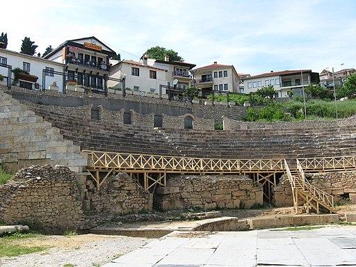 Greco-Roman amphitheatre, Ohrid 01