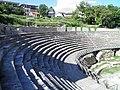 Greek Theatre built in 200 BC, Lychnidos, Ohrid, Republic of Macedonia FYROM (8397091649).jpg