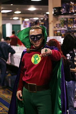 Cosplayer - Green Lantern (Alan Scott).