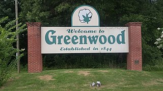 Greenwood, Mississippi City in Mississippi, United States