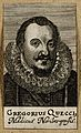 Gregorius Queccius. Line engraving, 1688. Wellcome V0004841.jpg