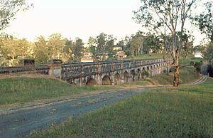 Greystanes, New South Wales - Boothtown Aqueduct off Macquarie Rd in 1990