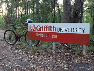Griffith University - Griffith University (Nathan Campus) from Stadium Path