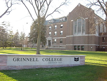 Grinnell College - Main Hall