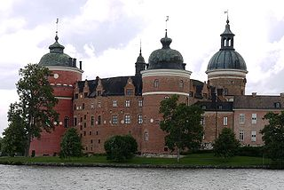 Gripsholm Castle was built in 1537 and here is located the National Portrait Gallery, one of the oldest portrait collections in the world