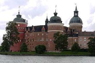 Gripsholm Castle - Water view of the castle
