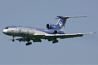 Testbed aircraft - Image: Gromov Flight Test Institute Tupolev Tu 154M Pichugin