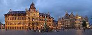 Grote Markt at night (Antwerpen)