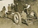"Group inspecting the car ""F.H. Stewart Enterprise"" (4985420043).jpg"