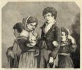 Grupo de crianças pedindo esmola - Archivo Pittoresco (Tomo IV, n.º 32).png