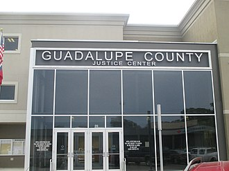 Guadalupe County, Texas - Separate from the courthouse is the Guadalupe County Justice Center on West Court Street