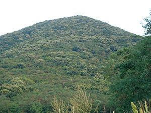 Vršac Mountains - Image: Gudurički Vrh, the highest point in Vojvodina