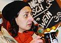 GuentherZ 2012-12-13 0307 Radio Wien Punschstand Am Hof Leila Mahdavian.jpg