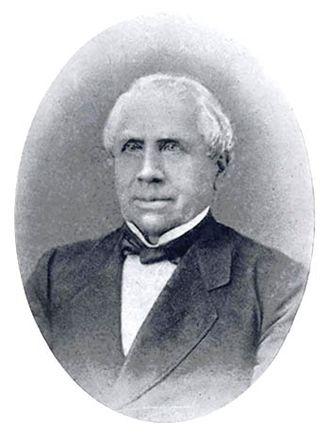 Gustav Koerner - Koerner in his last years.