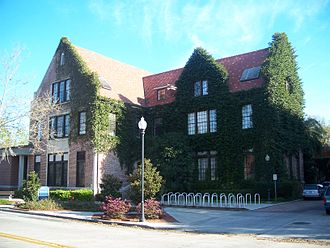 Historic districts in the United States - Walker Hall, part of the University of Florida Campus Historic District