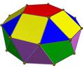 Gyroelongated pentagonal bicupola cw.png