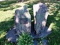 Hätilän vuoden 1940 pommituksen uhrien muistokivi 2000.jpg