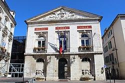 L'hôtel de ville de Bourg-en-Bresse.