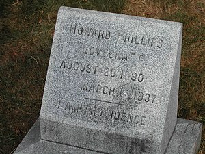 Grave of H. P. Lovecraft