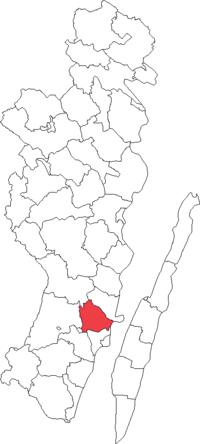 Läckeby landskommune i Kalmar amt