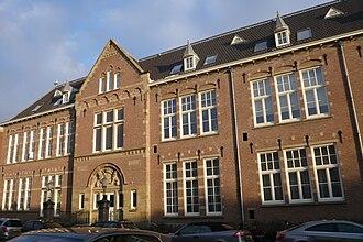 Hogere Burger School (Haarlem) - Image: HBS 1906 Hoogere Burgerschool Oude Zijlvest Haarlem