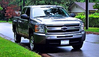 GMC (automobile) - 2010 Chevrolet Silverado