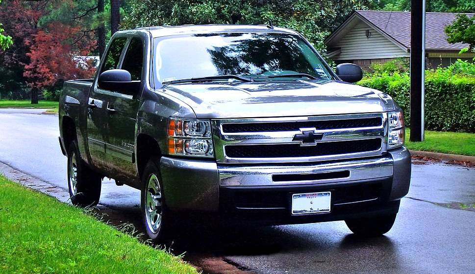 HDR image Chevy Silverado April 2010