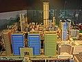 HKPIEG Infrastructure Gallery exhibit - 尖沙咀 TST 現今建築物 Lego model now May-2013 Harbour City One Peking.JPG