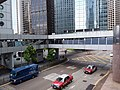 HK 中環 Central footbridge 干諾道中 Connaught Road 畢打街 Pedder Street July 2019 SSG 02.jpg