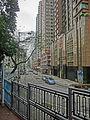 HK 大坑 Tai Hang 浣紗街 Wun Sha Street Children Playground fence view Villa d Arte Apr-2014.JPG