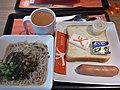 HK CWB 銅鑼灣道 Tung Lo Wan Road 大快活快餐店 Fairwood Restaurant afternoon tea set food bread Rice vermicelli noodle soup n sausage July 2019 SSG 01.jpg