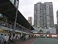 HK Mongkok 旺角 evening 麥花臣球場 Macpherson Playground 得寶大廈 Tak Bo Building May-2011.JPG