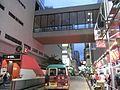 HK Mongkok night Fife Street TID Tower footbridge MTR Station B1 exit.JPG