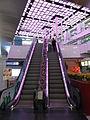 HK Ngau Tau Kok 淘大商場 Amoy Plaza upstairs Escalators May-2012.JPG