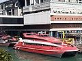 HK SW 上環 Sheung Wan near 信德中心 Shun Tak Centre 天橋 footbridge view 維多利亞海港 Victoria Harbour February 2020 SS2 04.jpg